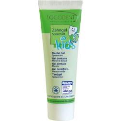 Logona Kids gel dentifricio menta verde