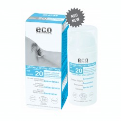 Eco Cosmetics Lozione Solare Neutra Senza Profumo SPF20