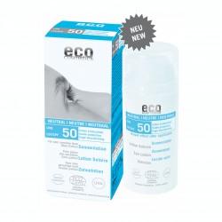 Eco Cosmetics Lozione Solare Neutra Senza Profumo SPF50