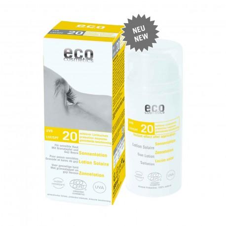 Eco Cosmetics Lozione Solare SPF20
