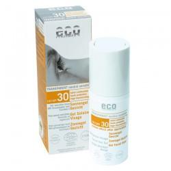 Eco Cosmetics Gel Solare Viso SPF30