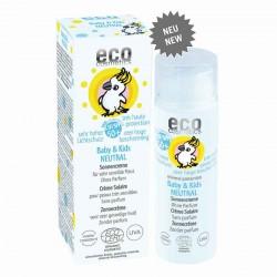 Eco Cosmetics Baby & Kids Neutra Crema Solare SPF50+ senza profumo