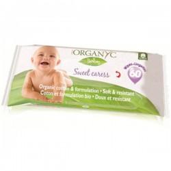 Organyc Salviette Baby Sweet Caress